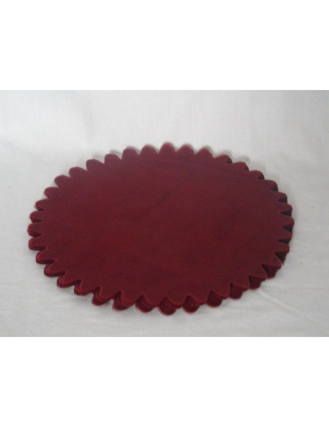 Lot de 10 Tulles marron