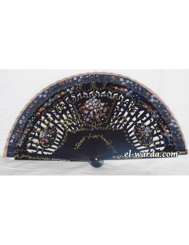 - Evantail bleu marine