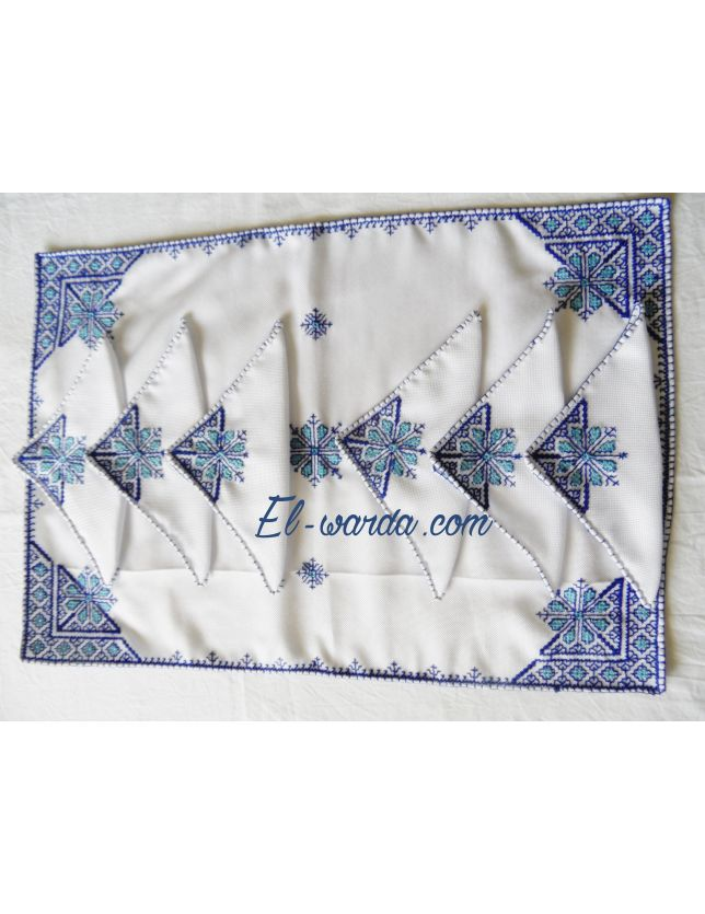 "Lot Serviette de table ""Terz el Fessi"""