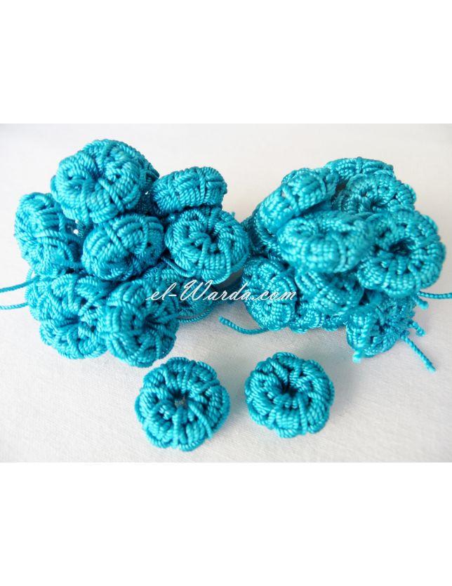 3QADS (CHAMCIA) Bleu Turquoise.
