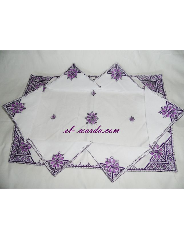 "SERVIETTE DE TABLE ""TERZ EL FESSI"""