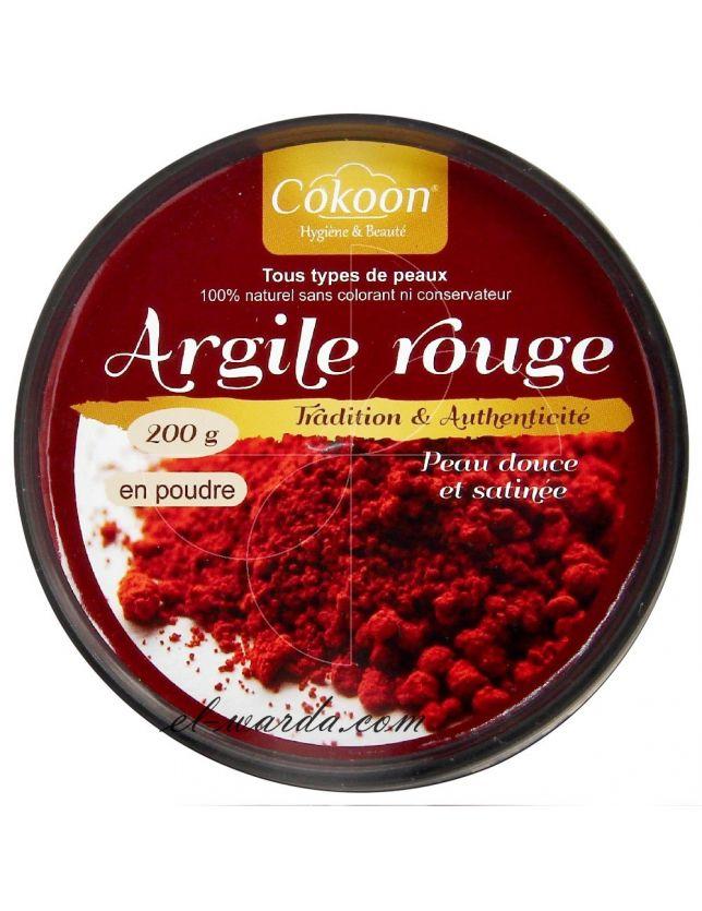 COKOON - ARGILE ROUGE - 200 G