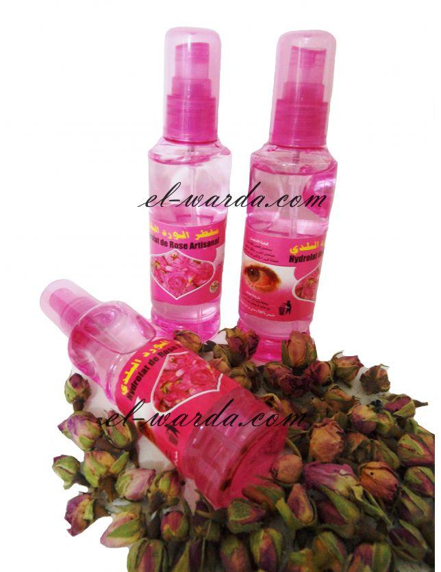 hydrolat de rose artisanal