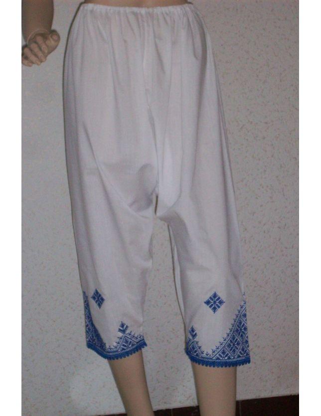 Saraouel Tarz El Fessi Bleu Marine