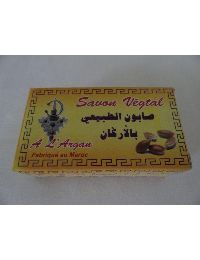 savon végétale à l'argan