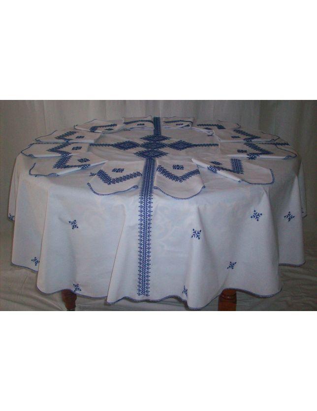 Nappe Bleu Tarz El Fassi