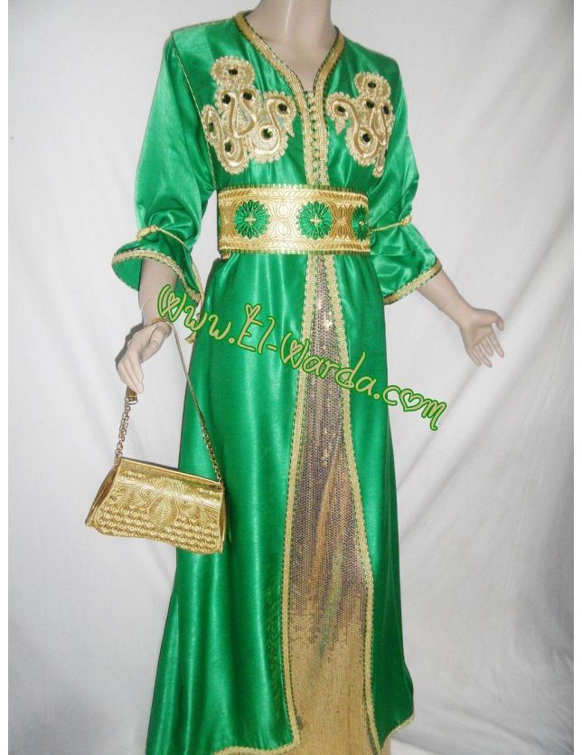 Caftan vert