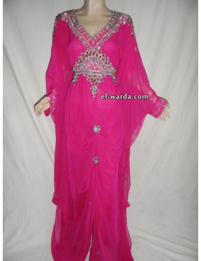 Abaya Dubaî rose