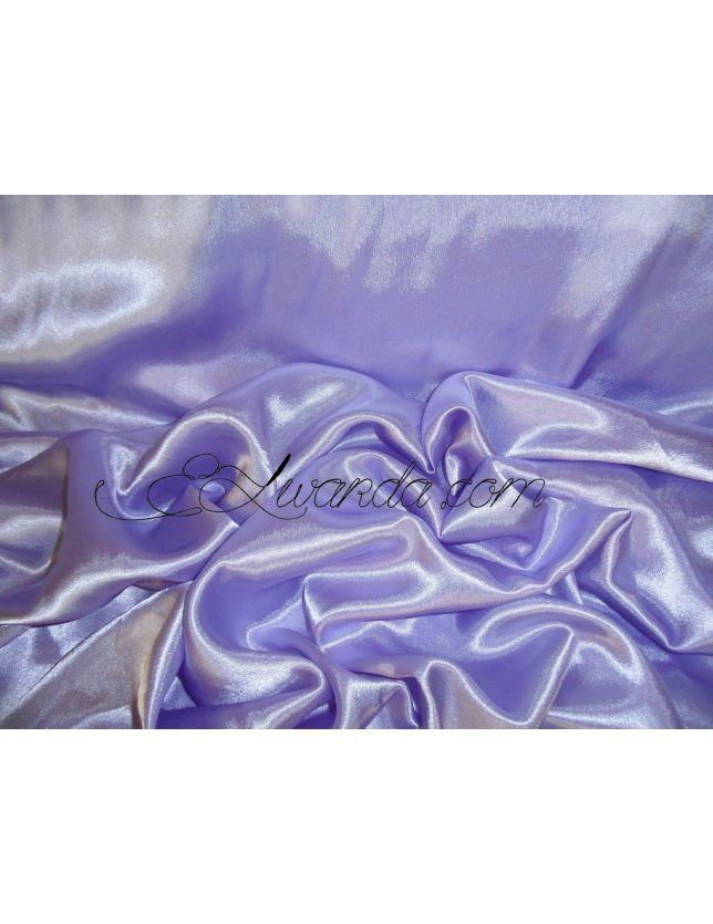 Tissu Satin de Soie / violet clair.