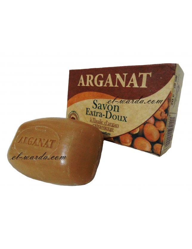 savon extra- doux à l'huile d'argan