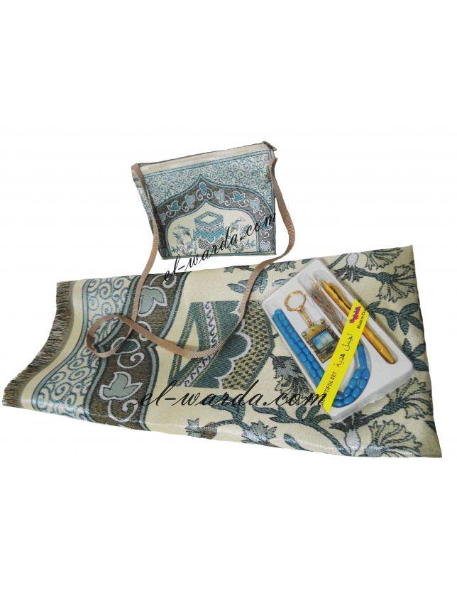 Tapis de prière avec sac de voyage