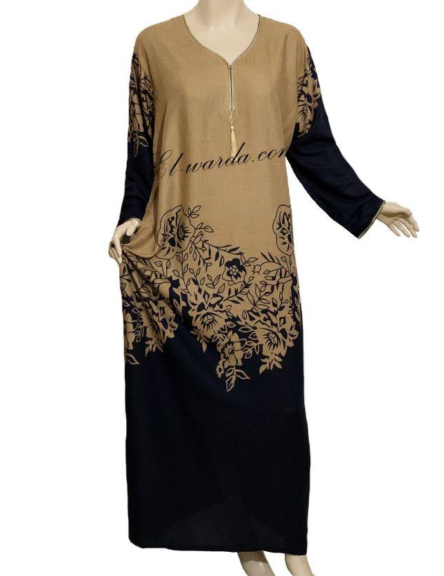 robe légère à fleurs