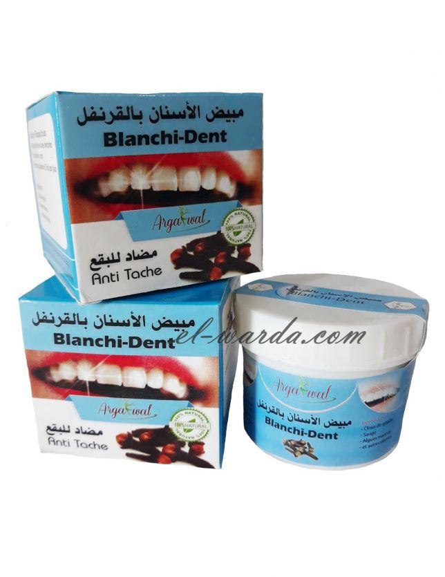 Blanchi-Dent مبيض الأسنان بالقرنفل
